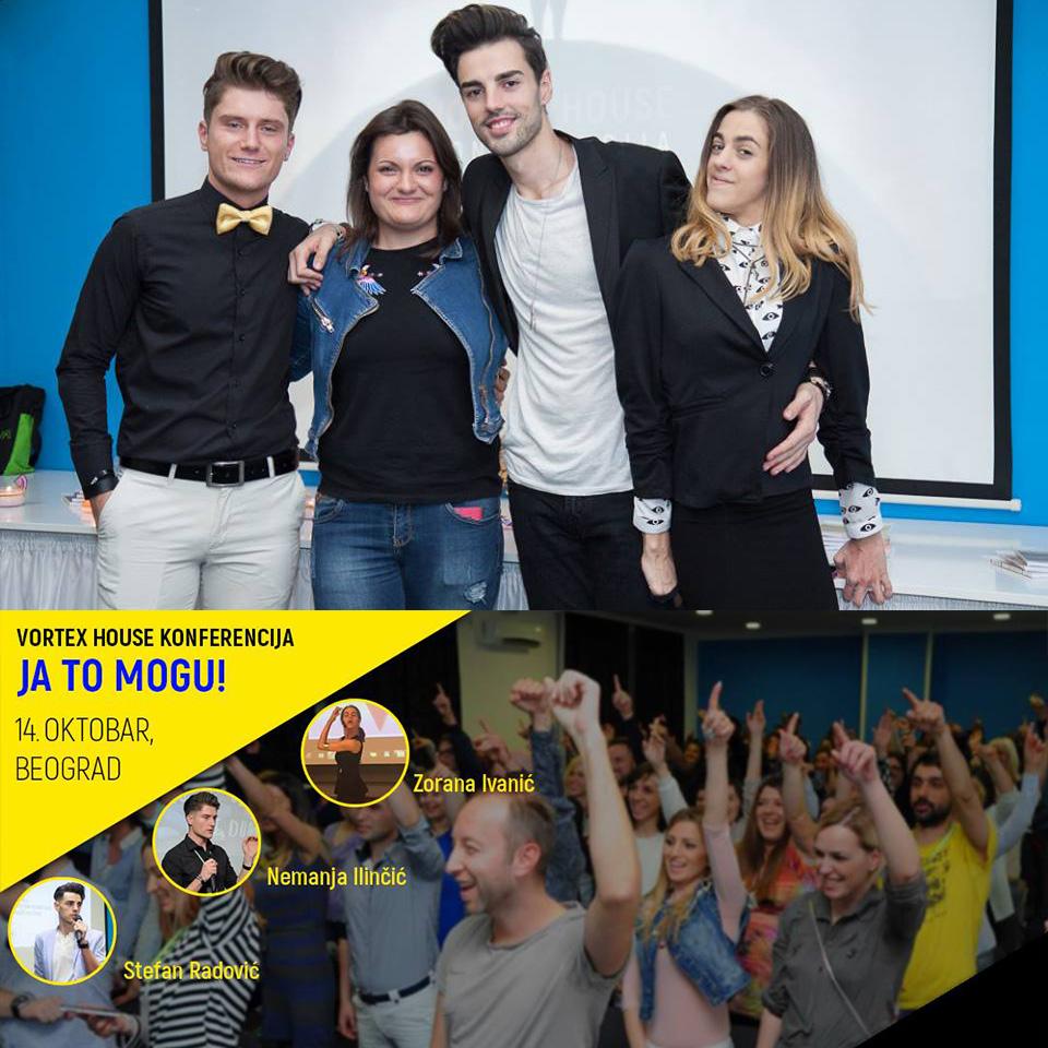 "Konferencija ""JA TO MOGU!"" – Beograd"